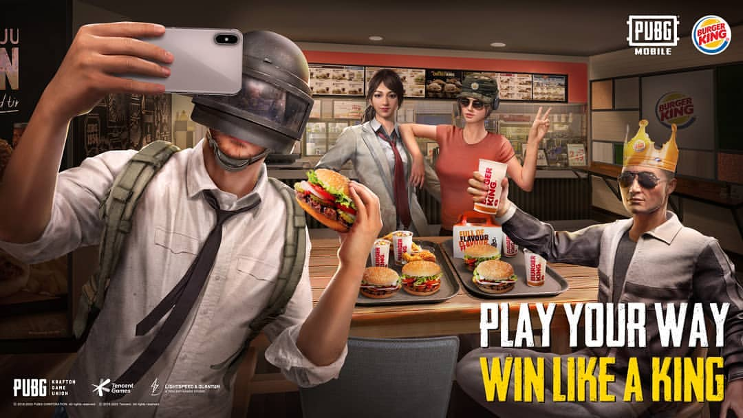 Easy way to get PUBG Mobile X Burger King Special Skin