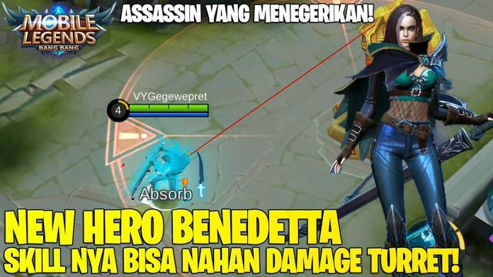 Benedetta, the New Hero Assassin in Mobile Legends with Complete Skill