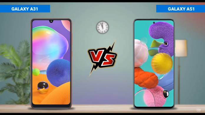 Samsung Galaxy A31 vs. Galaxy A51, Relatives That Are Not Much Different!