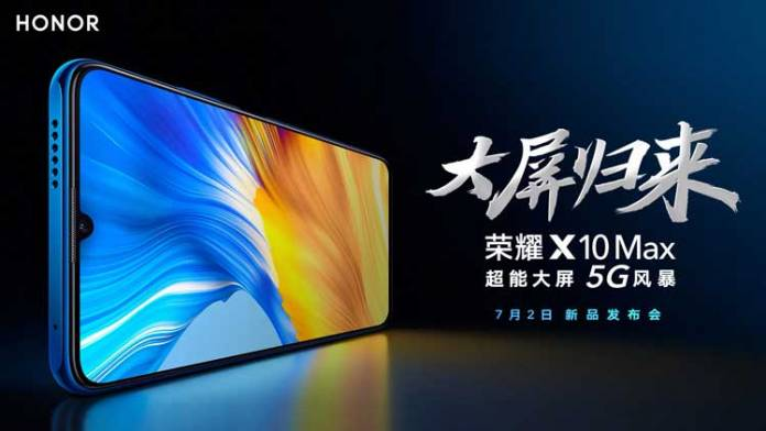 Honor X10 Certainly Comes with an RGBW Screen