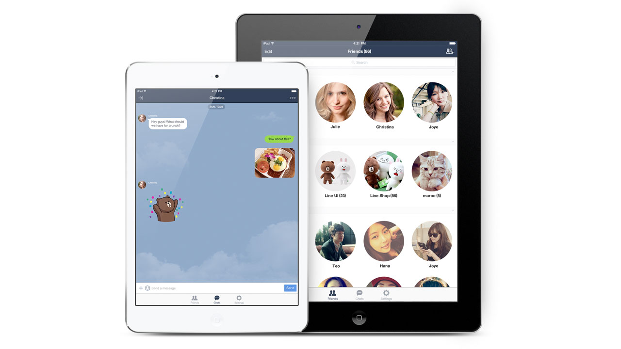 Access LINE on the iPad No Longer Needs a Password, Here's How